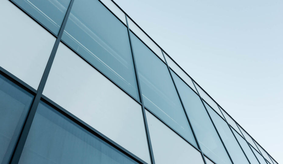 Aluminium Composite Panels used for commercial building